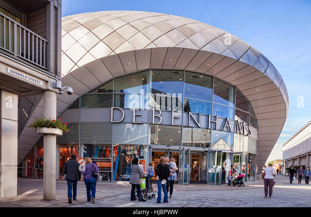 Debenhams Department Store, Bury St Edmunds, Cambridgeshire, England, UK - Stock Image