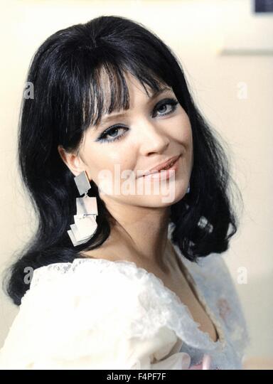 Anna Karina - Stock Image