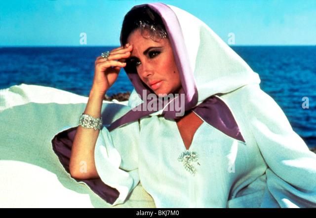 BOOM -1968 ELIZABETH TAYLOR - Stock-Bilder
