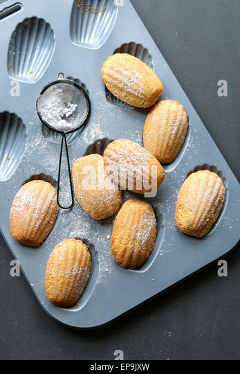 French madeleines - Stock Image