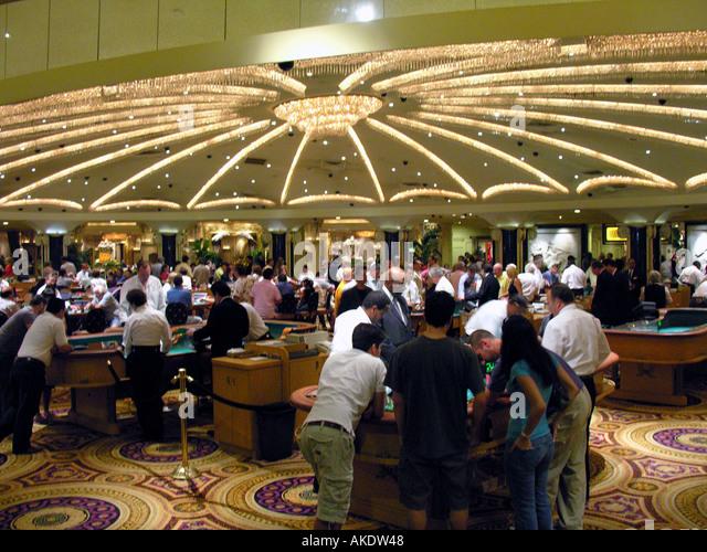 Las Vegas Nevada Las Vegas strip Caesars Palace Casino - Stock Image