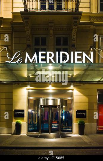 Le Meridien Hotel in Vienna Austria - Stock-Bilder