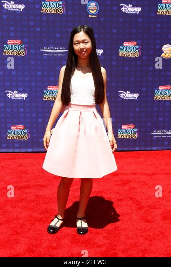 Nina Lu at arrivals for Radio Disney Music Awards - ARRIVALS 2, Microsoft Theater, Los Angeles, CA April 29, 2017. - Stock-Bilder