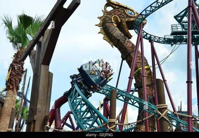 Florida Busch Gardens Stock Photos Florida Busch Gardens