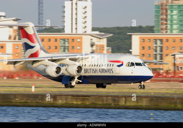 British Airways regional jet - Stock Image