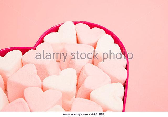 Marshmallow - Stock Image