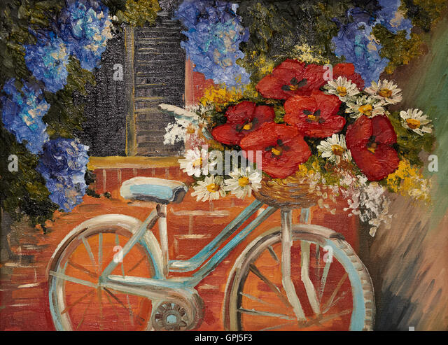 Bicycle oil stock photos bicycle oil stock images alamy for Bicycle painting near me