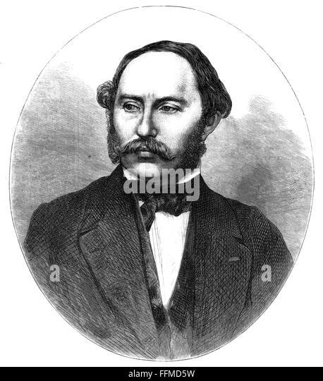 Friedrich Buerklein, late 19th century - Stock Image