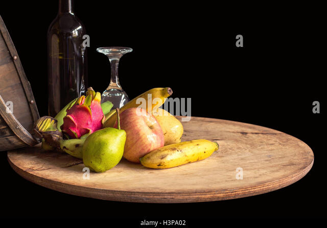 fruit tray dragon fruit wine
