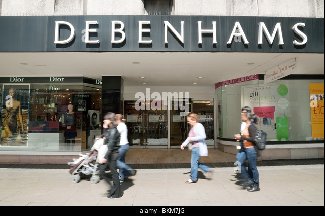 debenhams department store marketing perspective essay