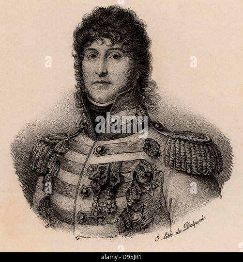 Joachim Murat (1767-1815) French soldier. Created king of Naples in 1808. He married Napoleon Bonaparte's sister - Stock Image