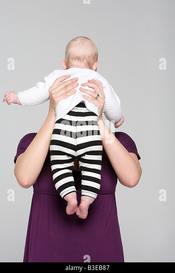 A mother and baby girl - Stock-Bilder