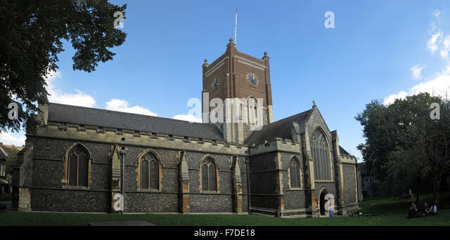 All Saints Church exterior, Kingston Upon Thames,London,England,UK - Stock Image