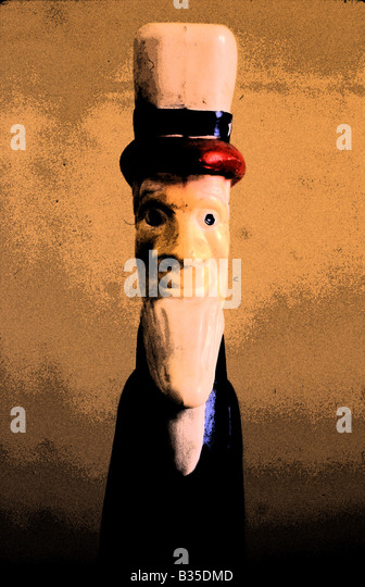 uncle sam, mister america - Stock Image