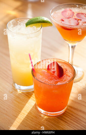 Cocktails in Florida - Stock Image