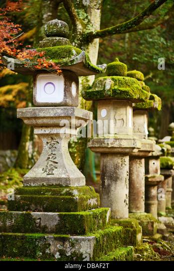 nara, japan lanterns - Stock-Bilder