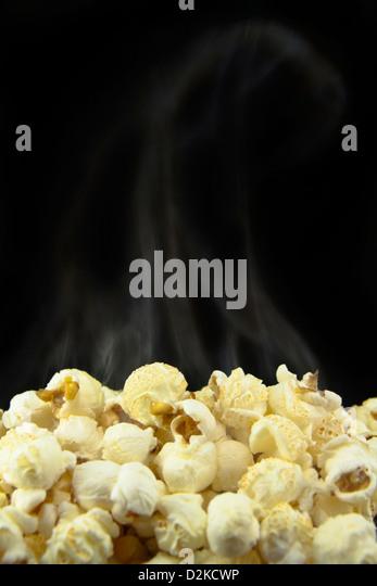 Fresh Popcorn - Stock Image