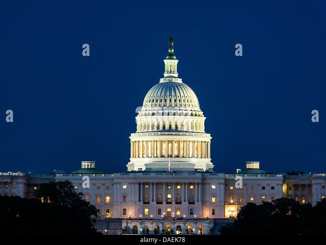 The United States Capitol Building, Washington D.C., USA - Stock Image