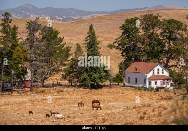 Rural view house america stock photos rural view house Usa countryside pictures