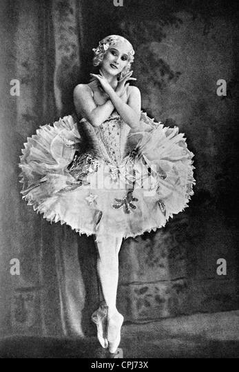 Anna Pavlova - Stock Image