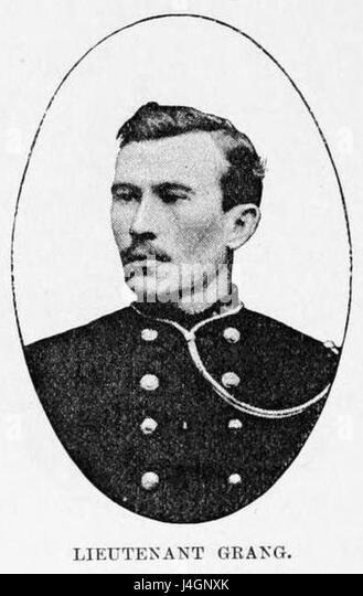 Stanley Founding of Congo Free State 270 Lieutenant Grang - Stock-Bilder