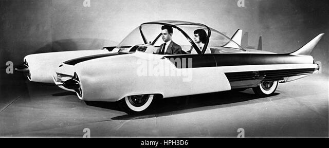 1954 Ford FX Atmos concept car - Stock Image