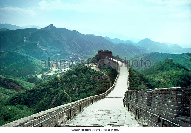 The Great Wall of China - Stock-Bilder