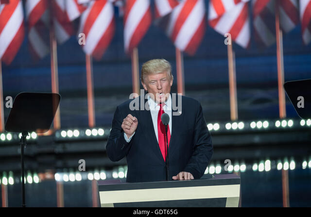 Donald Trump 2016 Speech Stock Photos & Donald Trump 2016 ...