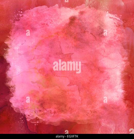 Pink Watercolor Paper Background Texture - Stock-Bilder