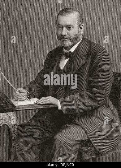 William Watson, Baron Watson, 1827 –1899. Scottish lawyer and Conservative Party politician. - Stock Image