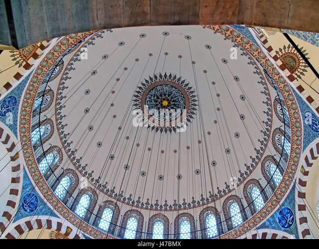 Rustem Pasha Mosque was designed by the famous Ottoman architect, Mimar Sinan for Rüstem Paşa, Grand Vizier - Stock Image