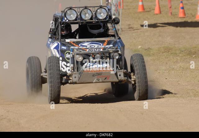 Jun 06, 2009 - Valle de la Trinidad, Baja Norte, Mexico - ARNOLDO RAMIREZ, 2nd place finisher of Class 1-2/1600 - Stock Image
