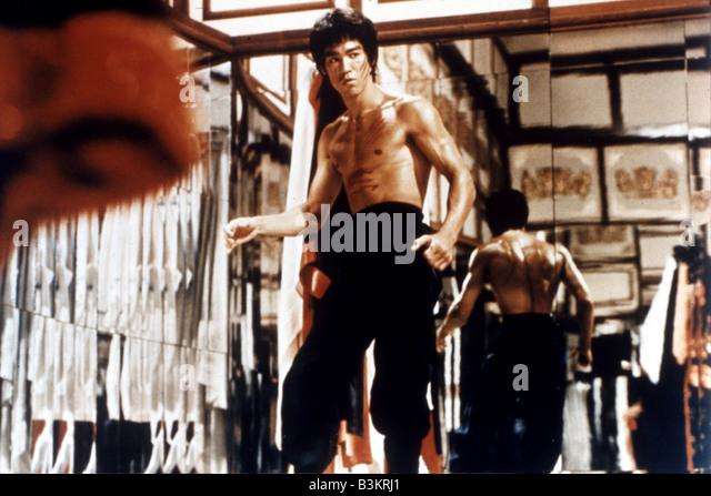 BRUCE LEE  Hong Kong martial arts film actor - Stock-Bilder