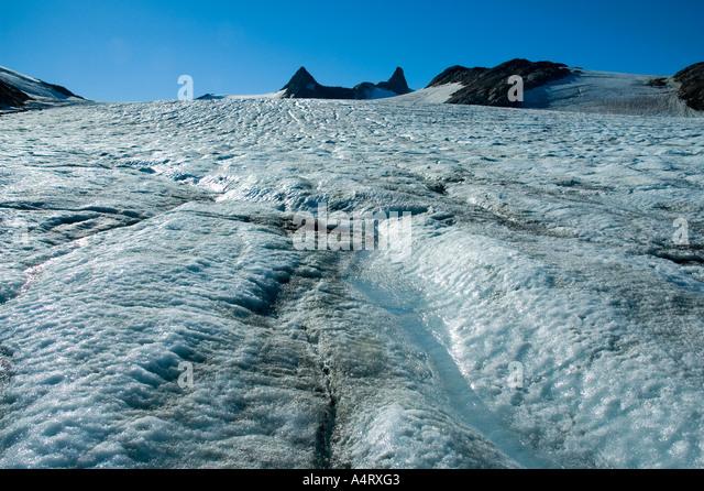 The Mítivagkat glacier, Angmagssalik Island, Sermilik Fjord, East Greenland - Stock Image