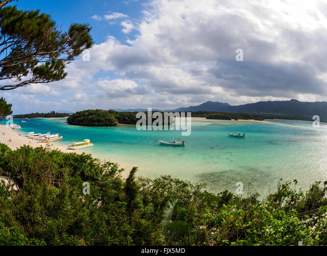 Scenic View Of Sea Against Cloudy Sky - Stock Image