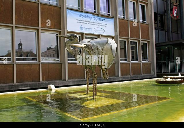 Metal Bird Sculptures Stock Photos Metal Bird Sculptures