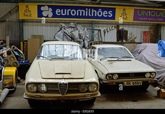 Cluttered garage stock photos cluttered garage stock images alamy - Garage alfa romeo orleans ...