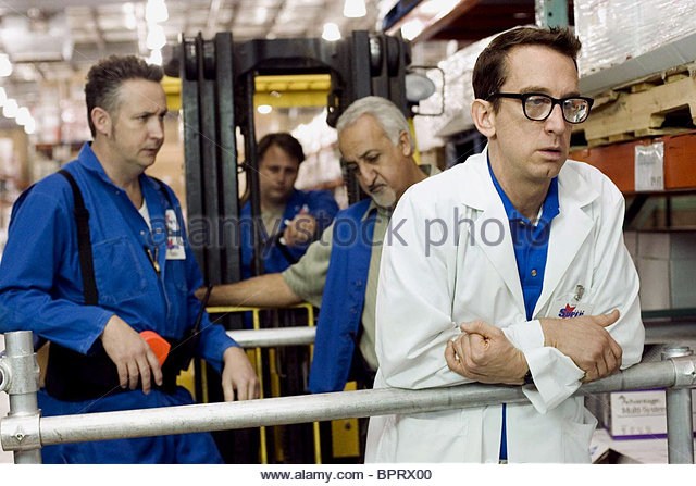 HARLAND WILLIAMS BRIAN GEORGE & ANDY DICK EMPLOYEE OF THE MONTH (2006) - Stock Image