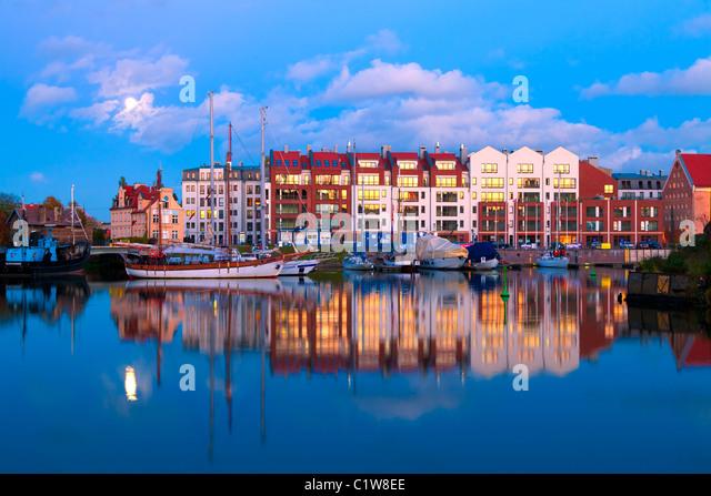 Gdansk, Pomerania, Poland - Stock Image