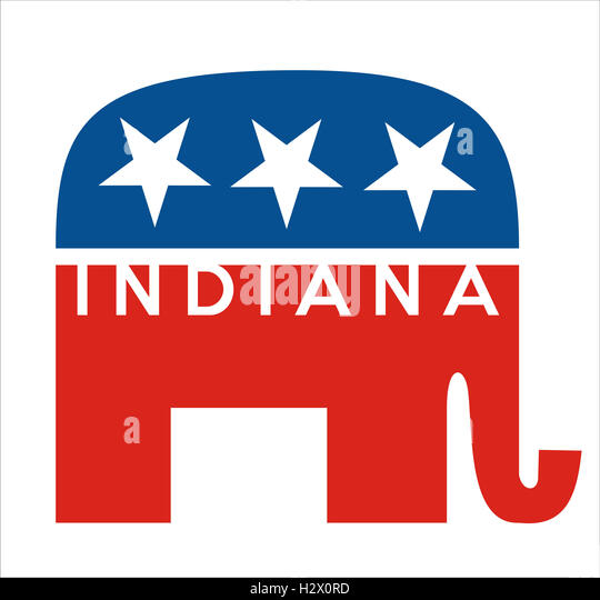 republicans indiana - Stock Image