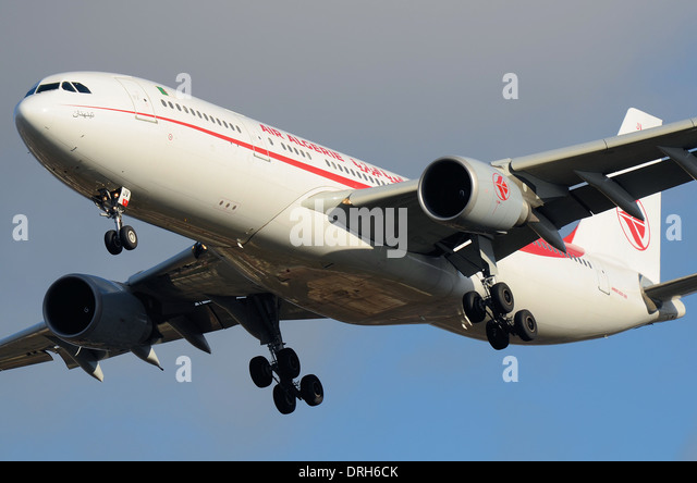 Air Algerie is the national airline of Algeria,with its head office in the Immeuble El-Djazair in Algiers. This - Stock Image