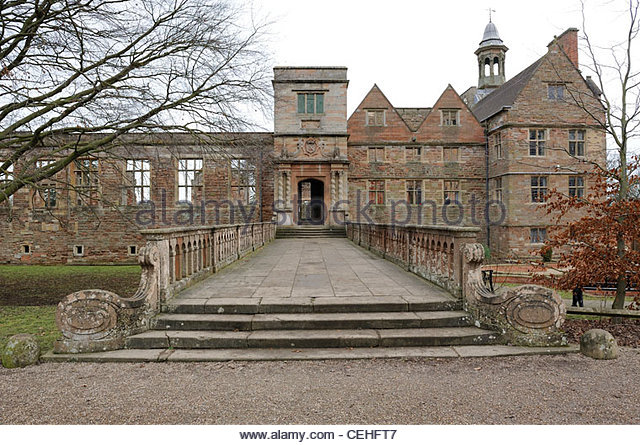 rufford abbey country park nottinghamshire england - Stock Image