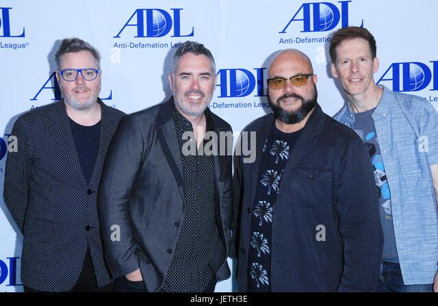 Anti-Defamation League entertainment industry dinner honoring Bill Prady - Arrivals  Featuring: Kevin Hearn, Ed - Stock-Bilder