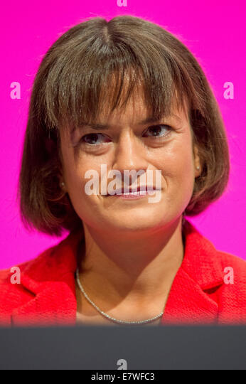 Manchester, UK. 24th September, 2014.  Johanna Baxter, member of Labour's National Executive Committee, at day - Stock Image