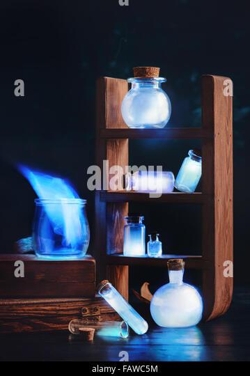 Glowing memories - Stock Image