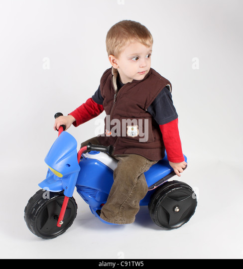 Electric Riding Toys For Boys 5 And Up : Toddler riding toy car stock photos