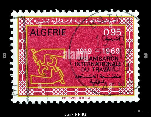 Algeria 1969 - Stock Image