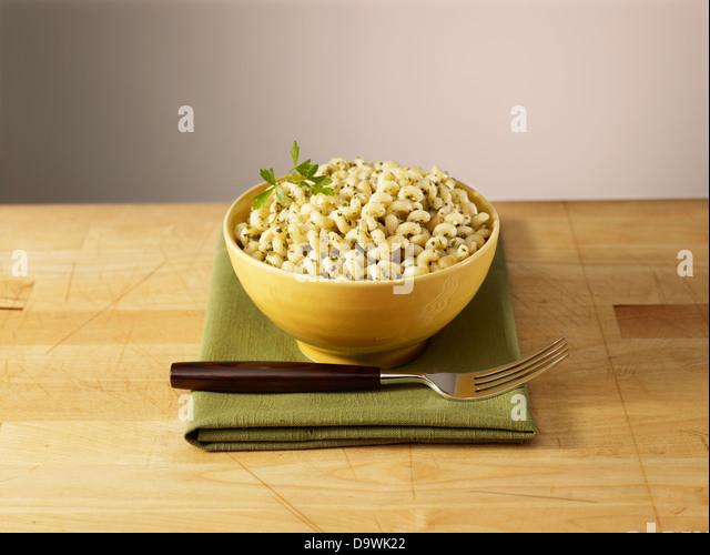 fusilli pasta - Stock Image