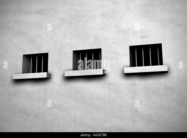 prison Gefaengnis - Stock Image