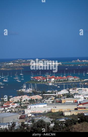 St Maarten Simpson Bay - Stock Image